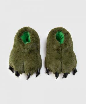 Тапочки для мальчиков O`Stin. Цвет: зеленый