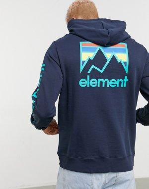 Темно-синий худи Joint Element