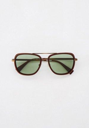 Очки солнцезащитные Baldinini BLD 2044 404. Цвет: коричневый
