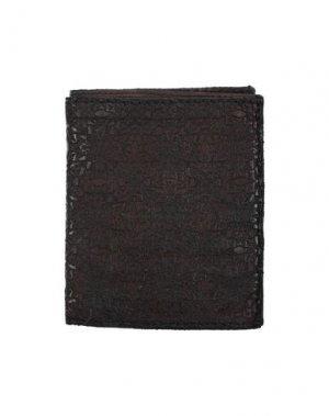 Бумажник CAMPOMAGGI. Цвет: темно-коричневый
