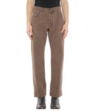 Повседневные брюки HENRI LLOYD. Цвет: коричневый