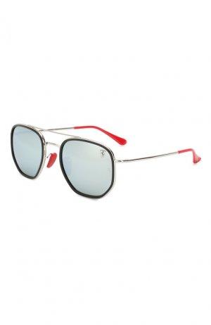 Солнцезащитные очки Ray-Ban. Цвет: серебряный
