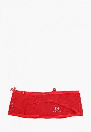 Пояс для бега Salomon SENSE PRO BELT. Цвет: красный