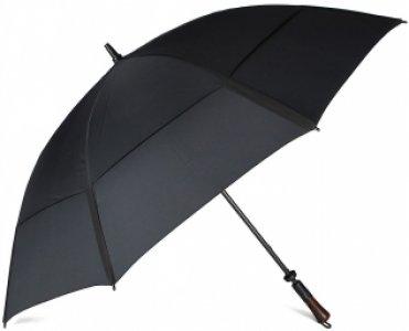 Зонт механический 37 DBLE черный JEAN PAUL GAULTIER