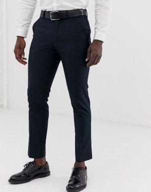 Узкие брюки под смокинг -Темно-синий French Connection