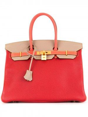 Сумка Birkin Hermès. Цвет: красный