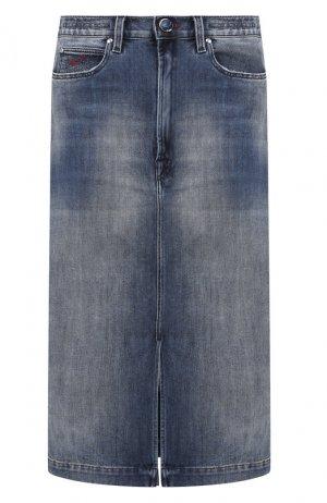 Джинсовая юбка Jacob Cohen. Цвет: синий