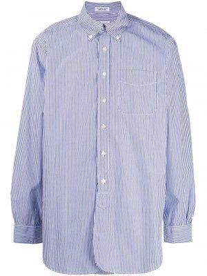 Полосатая рубашка с длинными рукавами Engineered Garments. Цвет: белый