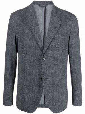 Однобортный пиджак Hydrogen. Цвет: серый