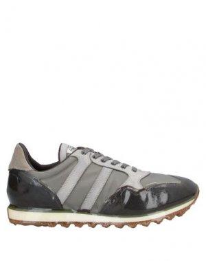 Низкие кеды и кроссовки ALBERTO FASCIANI. Цвет: серый