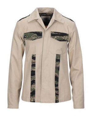 Куртка HERMAN. Цвет: бежевый