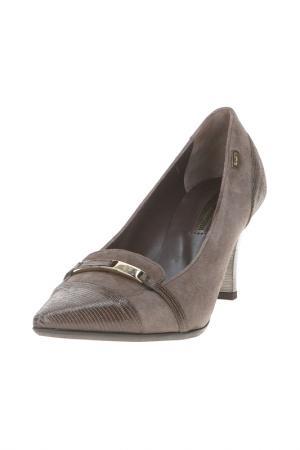 Туфли Giovanni Giusti. Цвет: коричневый