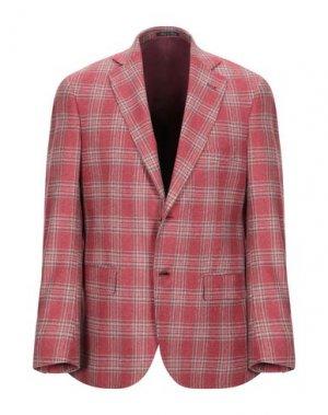 Пиджак AQUARAMA. Цвет: кирпично-красный