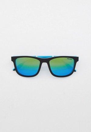 Очки солнцезащитные Prada Linea Rossa PS 04XS 05S05L. Цвет: черный