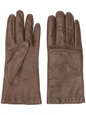 Классические перчатки P.A.R.O.S.H.. Цвет: коричневый