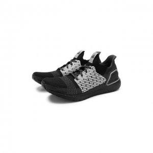 Текстильные кроссовки x NEIGHBORHOOD Ultraboost 19 adidas. Цвет: чёрный