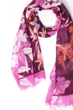 Шарф Betty and Co. Цвет: розовый