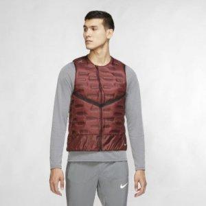 Мужской беговой жилет Aeroloft - Красный Nike