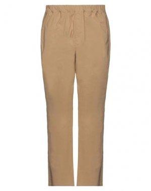 Повседневные брюки LOREAK MENDIAN. Цвет: верблюжий