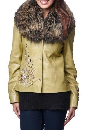 Куртка Jean Guise. Цвет: зеленый