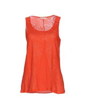 Майка NAF. Цвет: оранжевый