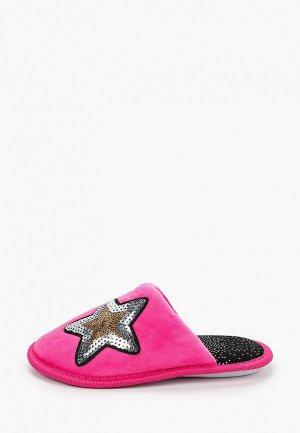 Тапочки T.Taccardi. Цвет: розовый