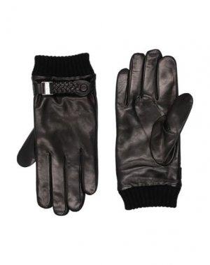 Перчатки BALDININI. Цвет: черный