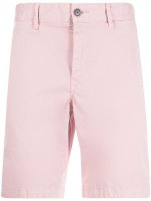 Slim-fit chino short BOSS. Цвет: розовый