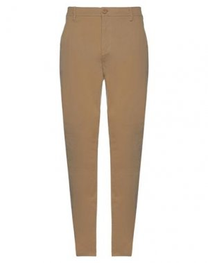 Повседневные брюки BLEND. Цвет: песочный