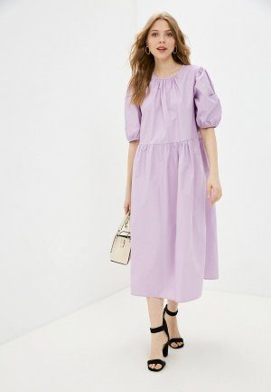 Платье Incity. Цвет: фиолетовый