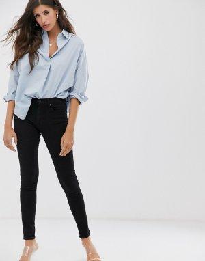 Зауженные джинсы re-bound-Черный French Connection