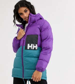 Фиолетовая дутая куртка -Фиолетовый Helly Hansen
