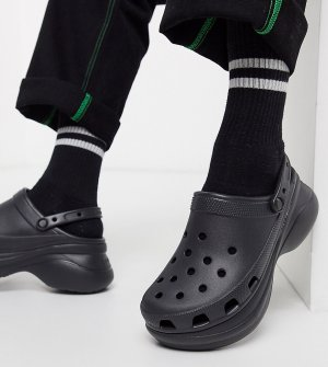 Черные сандалии на платформе эксклюзивно для ASOS-Черный цвет Crocs