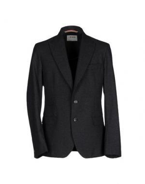 Пиджак L(!)W BRAND. Цвет: стальной серый