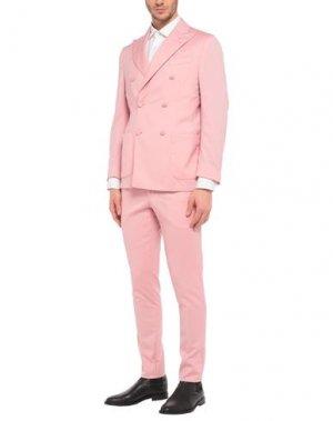 Костюм PULITO. Цвет: розовый