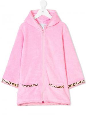 Пляжное худи-полотенце Elizabeth Hurley Beach Kids. Цвет: розовый