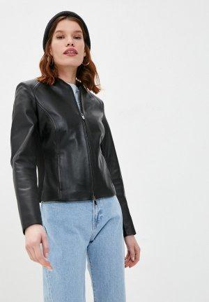 Куртка кожаная Arma STEVIE. Цвет: черный