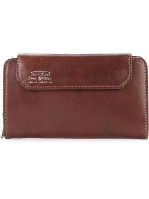 Бумажник с откидным клапаном As2ov. Цвет: коричневый