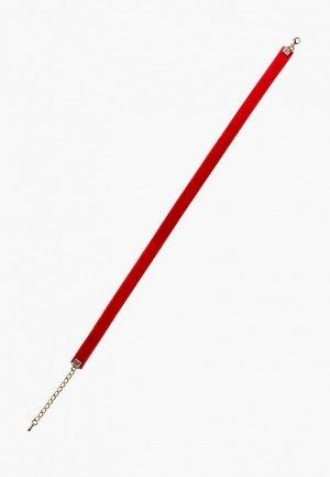Чокер GALOLBO. Цвет: красный