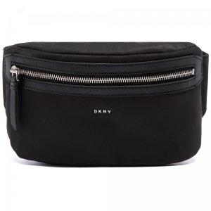 Поясная сумка DKNY. Цвет: чёрный