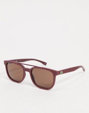 Черные солнцезащитные очки -Черный Lacoste