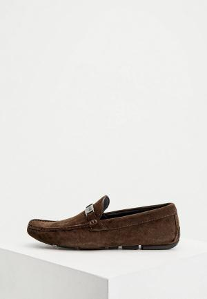 Мокасины Cavalli Class. Цвет: коричневый