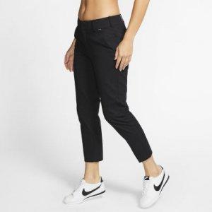 Женские брюки чинос Hurley Lowrider Nike. Цвет: черный