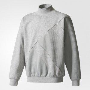 Джемпер EQT Originals adidas. Цвет: серый