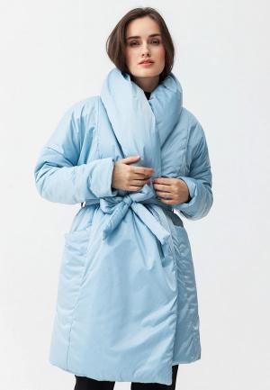 Куртка утепленная Ligio. Цвет: голубой