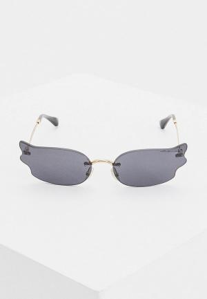 Очки солнцезащитные Jimmy Choo EMBER/S 2F7. Цвет: золотой