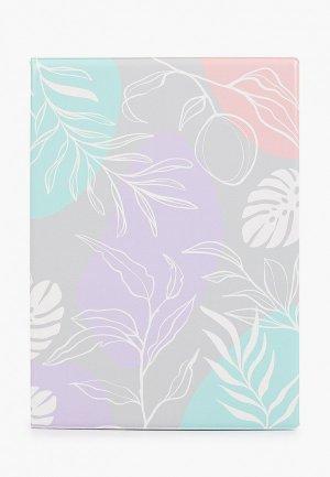 Обложка для документов Kawaii Factory. Цвет: разноцветный