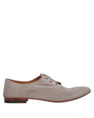 Обувь на шнурках ALBERTO FASCIANI. Цвет: светло-серый