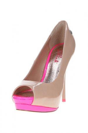 Туфли BLINK. Цвет: бежевый, розовый