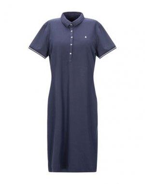 Короткое платье GAASTRA. Цвет: темно-синий